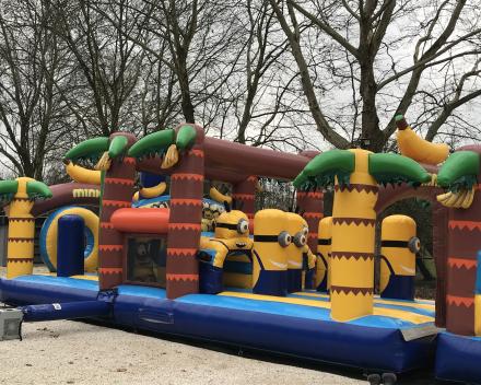 Eerste test en goedgekeurd !! Fun voor al uw feesten !! Run van meer dan 17 meter !!