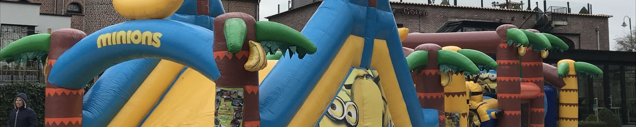 Minions run : speelplezier van 17 meter voor klein en minder klein